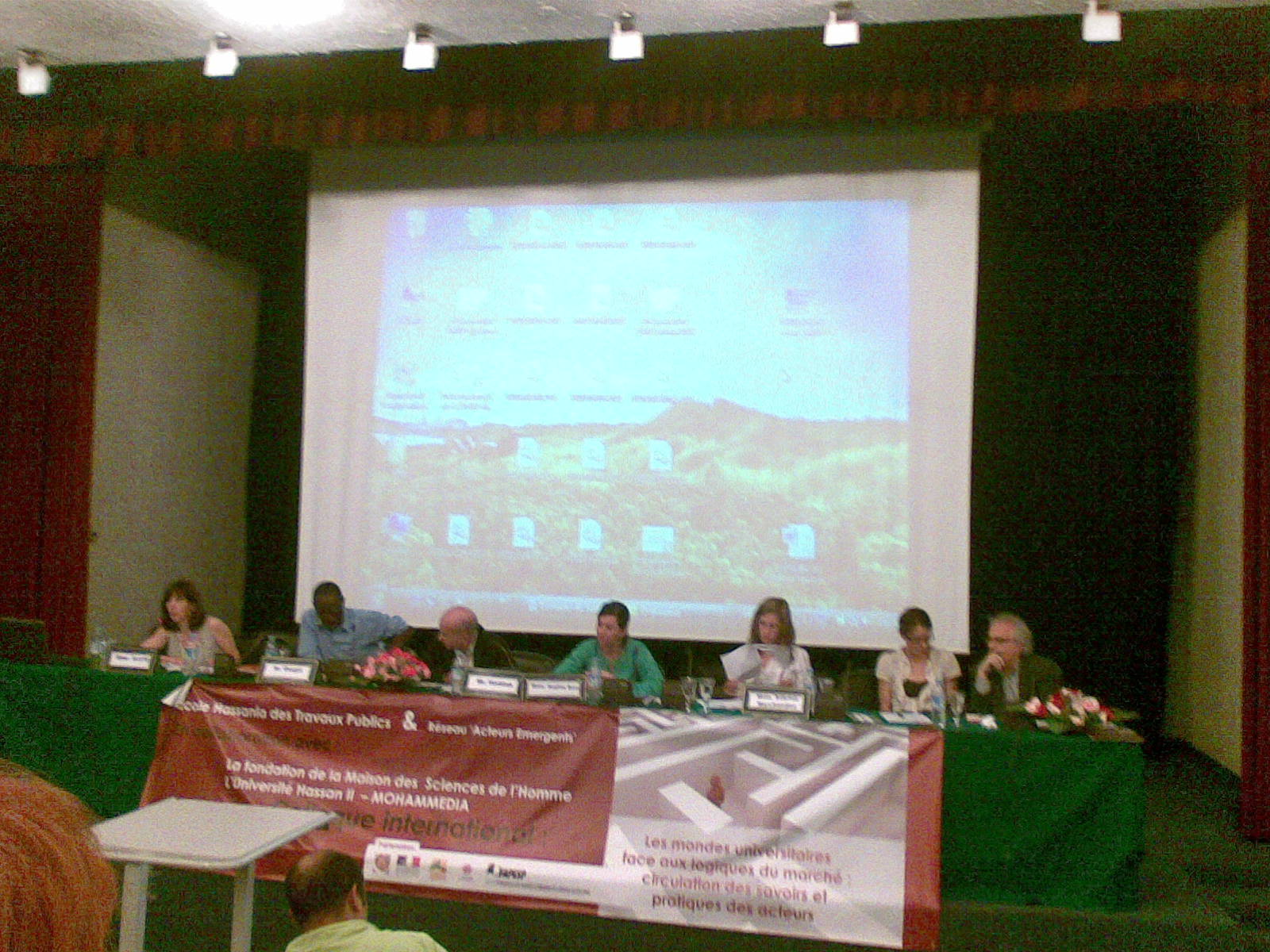 Colloque RAE Casablanca juin09 5