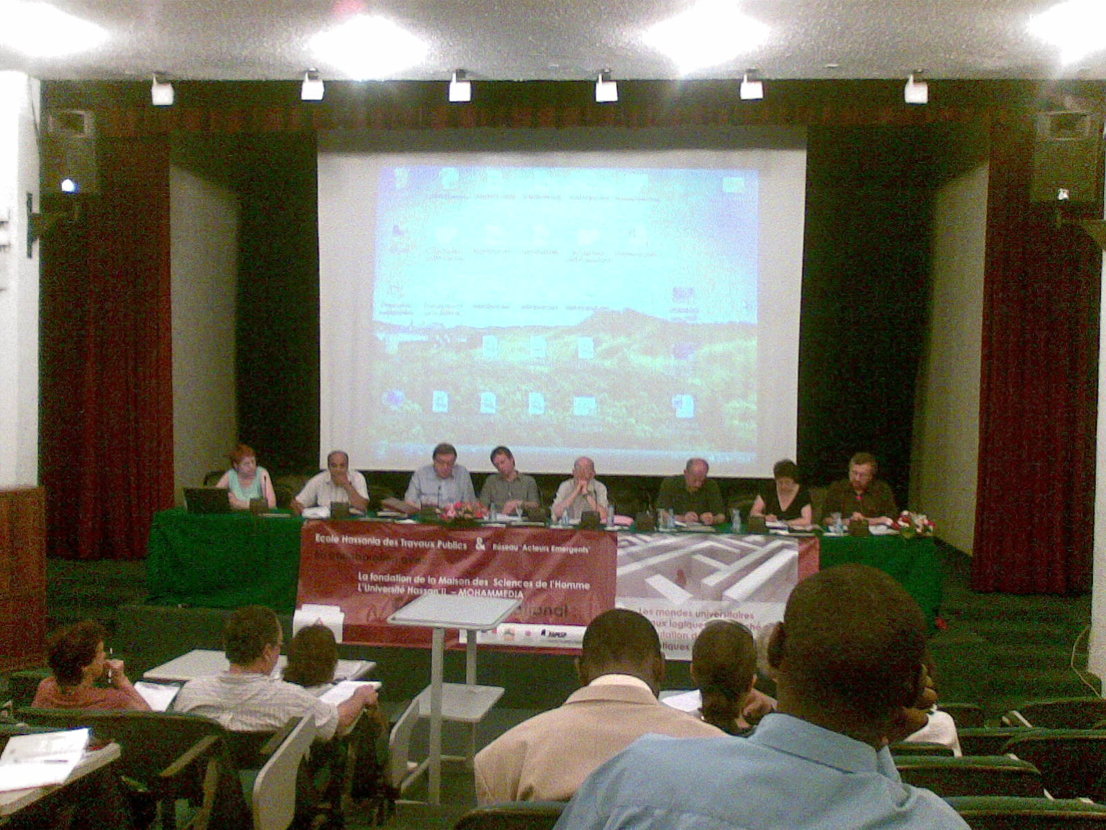 Colloque RAE Casablanca juin09 7